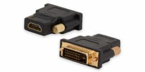 Adaptador DVI-D a HDMI, DVI-D macho a HDMI hembra de tipo A