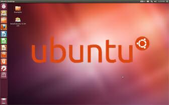 Pantalla de inicio de Ubuntu_12.04