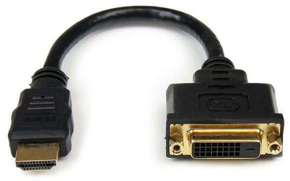 Adaptador HDMI a DVI simple de StarTech.com