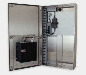 Carcasa industrial para PC comerciales/industriales con Dell 5000 montado