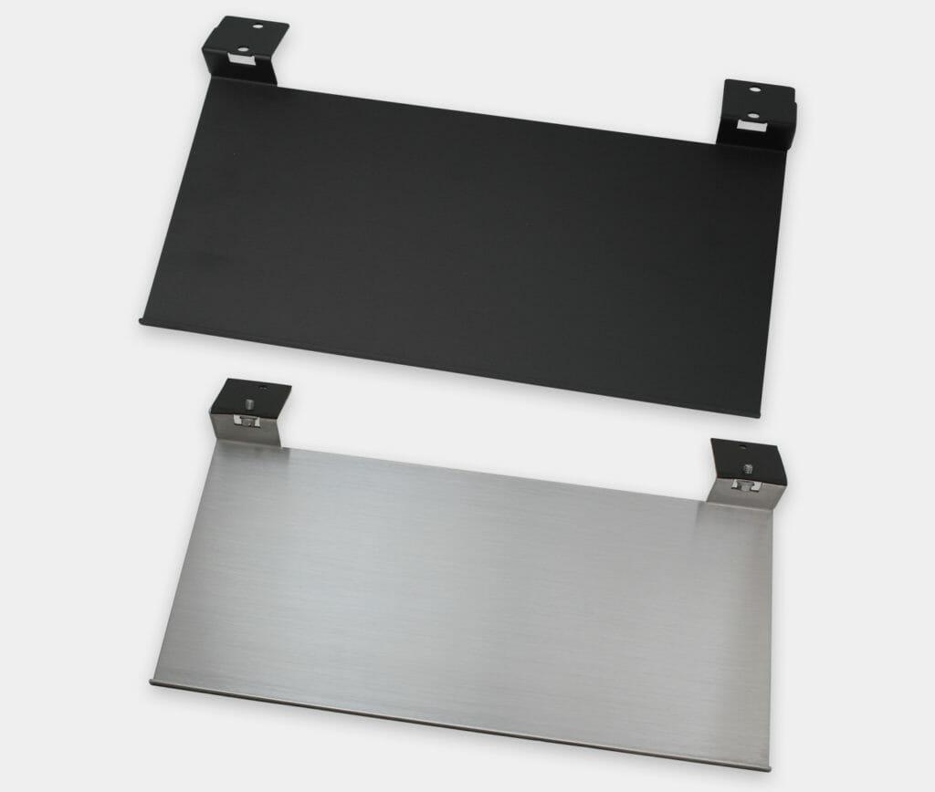 Bandeja de montaje para teclado industrial para monitores de montaje universal