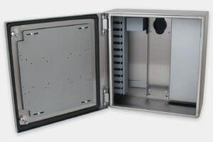Carcasas industriales para thin-clients y PC pequeños, sin refrigeración interna o fuente de alimentación integrada