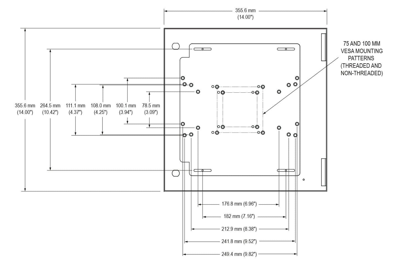 Placa de montaje interna para carcasas de thin-clients y PC pequeños de Hope Industrial